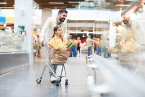 Supermarket Ambience Monitoring for Shoppers and Workers under the Threat of COVID-19